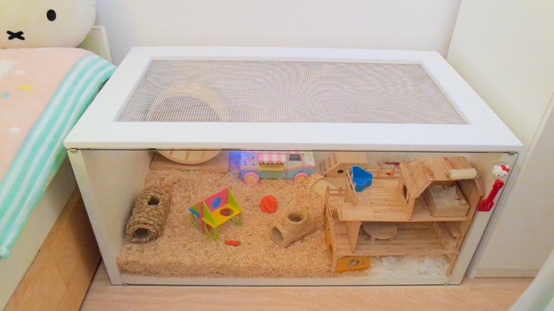 comment fabriquer une cabane a hamster